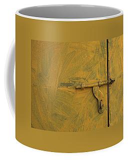 Skc 0047 The Door Latch Coffee Mug by Sunil Kapadia