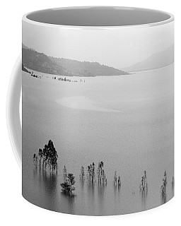 Skc 0055 A Hazy Riverscape Coffee Mug by Sunil Kapadia