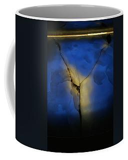 Skc 0243 Cracked Y Coffee Mug by Sunil Kapadia