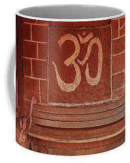 Skc 0316 Welcome The Gods Coffee Mug by Sunil Kapadia