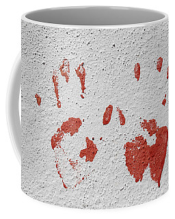 Skc 1058 Palm Impressions Coffee Mug by Sunil Kapadia