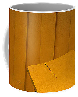 Skc 1496 A Tea Shack Bench Coffee Mug by Sunil Kapadia