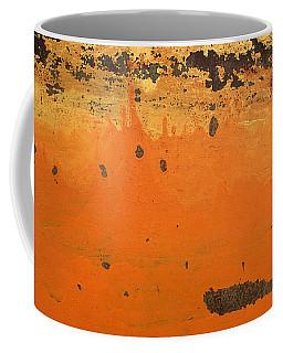 Coffee Mug featuring the photograph Skc 1505 Peeled Paint by Sunil Kapadia