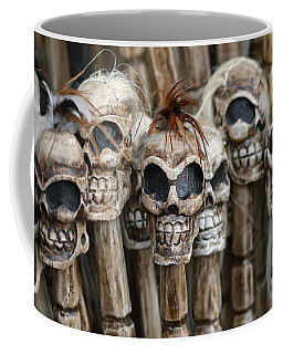 Skull Sticks Coffee Mug