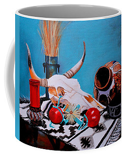 Skull Still Life Coffee Mug
