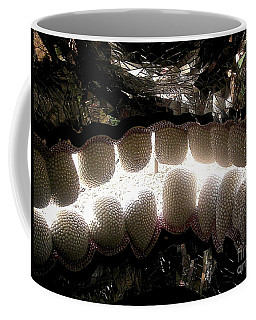 Skull Teeth Coffee Mug by Genevieve Esson