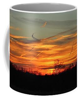 Sky At Sunset Coffee Mug