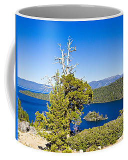 Sky Blue Water - Emerald Bay - Lake Tahoe Coffee Mug