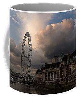 Sky Drama Around The London Eye Coffee Mug
