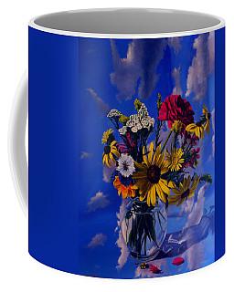Sky Flowers Coffee Mug