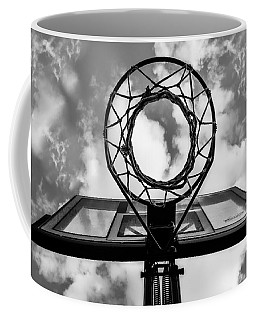 Sky Hoop Basketball Time Coffee Mug