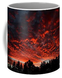 Sky On Fire Coffee Mug by Kenny Glotfelty