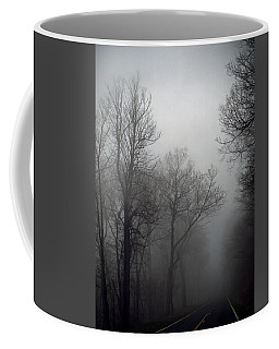 Skyline Drive In Fog Coffee Mug