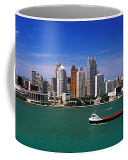 Skylines At The Waterfront, River Coffee Mug