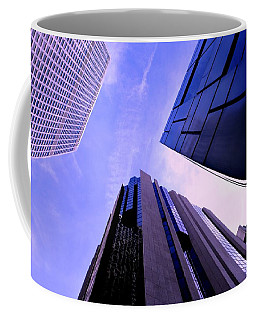 Coffee Mug featuring the photograph Skyscraper Angles by Matt Harang