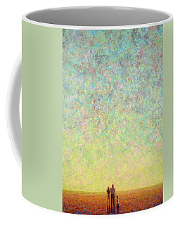 Skywatching In A Painting Coffee Mug