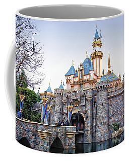Sleeping Beauty Castle Disneyland Side View Coffee Mug