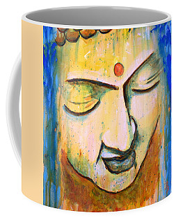 Sleeping Buddha Head Coffee Mug
