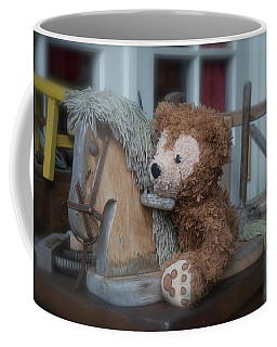 Coffee Mug featuring the photograph Sleepy Cowboy Bear by Thomas Woolworth