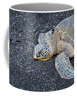 Sleepy Head Coffee Mug by David Lawson