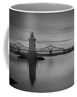 Sleepy Hollow Lighthouse Bw Coffee Mug