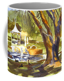 Coffee Mug featuring the painting Sleepy Summers Morning by Kip DeVore