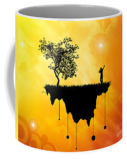Coffee Mug featuring the digital art Slice Of Earth by Phil Perkins