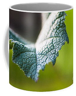 Slice Of Leaf Coffee Mug