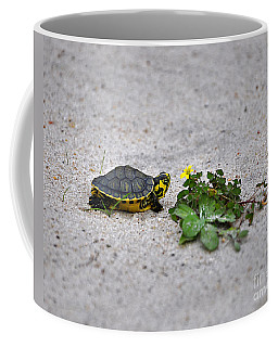 Slider And Sorrel In Sand Coffee Mug
