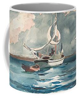 Sloop  Nassau Bahamas Coffee Mug