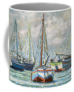 Sloops At Rest Coffee Mug