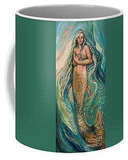 Slumbering Mermaid Coffee Mug
