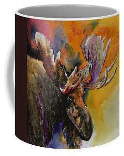 Sly Moose Coffee Mug by Beverley Harper Tinsley