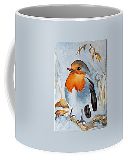 Small Bird Coffee Mug by Inese Poga