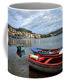 Small Boats In Galicia Coffee Mug