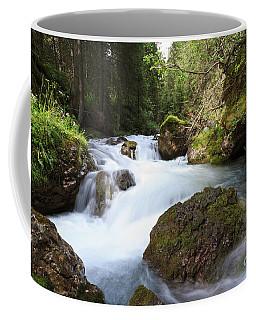 Coffee Mug featuring the photograph Small Stream by Antonio Scarpi