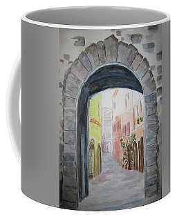 Small Village In Italy Coffee Mug