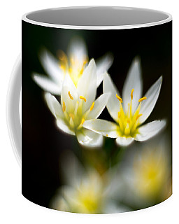 Small White Flowers Coffee Mug