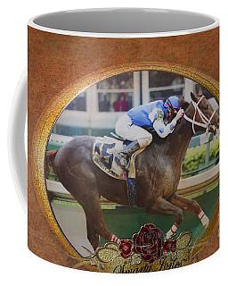 Smarty Jones Coffee Mug by Betty LaRue