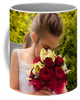 Smelling The Roses 2 Coffee Mug by Sabine Edrissi