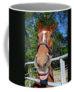 Coffee Mug featuring the photograph Smile by Ed Weidman