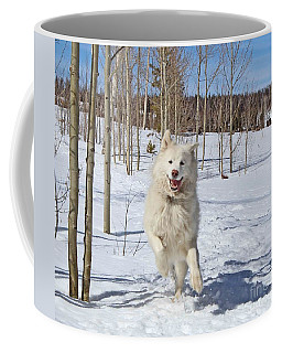 Smiling From Ear To Ear Coffee Mug by Fiona Kennard