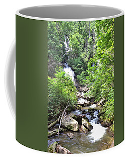 Smith Creek Downstream Of Anna Ruby Falls - 3 Coffee Mug