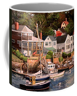 Smiths Cove Gloucester Coffee Mug by Eileen Patten Oliver