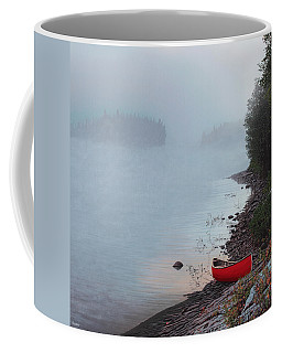 Smoke On The Water Coffee Mug by Kenneth M  Kirsch