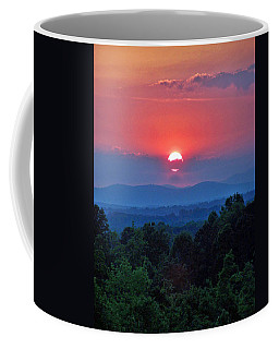 Smokey Mtn Sunset Coffee Mug