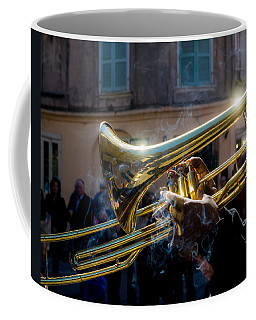 Smoking Hot Trombone Coffee Mug