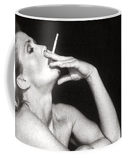 Smoking Nude  Coffee Mug