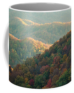 Smoky Mountain View Coffee Mug by Patrick Shupert