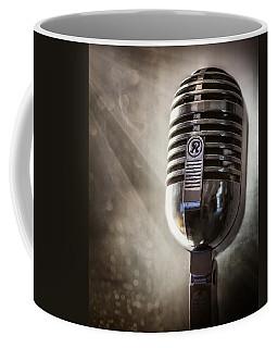 Smoky Vintage Microphone Coffee Mug